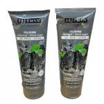 Freeman Polishing Charcoal + Black Sugar Gel Mask + Scrub - 175ml (1119) DAMAGED TUBES