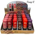 Saffron Pro-Matte Lipstick (24pcs) (Tray C) (8232) (£0.56/each) SAFFRON/97C