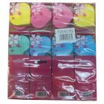 Saffron Heart Shaped Make-Up Sponge (12pcs) (952) (£0.58/each) Saffron/80A
