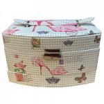 Saffron Red Shoe/Roses 3 Storage Jewellery Case