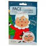 Face Facts Mrs Claus Cleansing Sheet Mask - 20ml (6583) (26569-150) FF/81