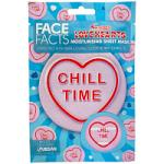 Face Facts Swizzels Love Hearts Chill Time Moisturising Sheet Mask - 20ml (6200) (26194-150)