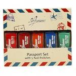 La Femme Passport 5pc Nail Polish Mini Gift Set