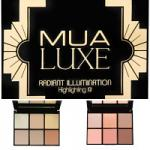 MUA Luxe Radiant Illumination Highlighting Kit - 14.5g (Options) MUA 50