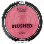 MUA Blushed Matte Blush Powder - Rose Tea (6g) (3922) MUA 15A