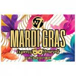 W7 Mardi Gras Express Yourself Pressed Pigment Palette (2248) (MARDIG)A/30
