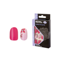 Royal 24 Glue-On Nail - California Pink (6pcs) (NNAI301) (£1.23/each) (6798) ROYAL 1