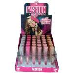 W7 Fashion Lipsticks - Pinks (36pcs) (8102) (LPD) (£0.60/each) C21