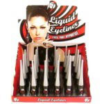 W7 Dip Liquid Eyeliner - Black (24pcs) (ELP) (£0.80/each) (7700) D/56