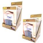 Saffron Eyebrow Kit with Stencils (12pcs) 2 Options (SAFFRON 1/2) (£1.23/each)