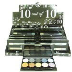 W7 10 out of 10 Eyeshadows Assorted Shades (12pcs) (B177) (£1.65/each)