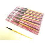W7 Super Fine Eyeliner Brush (12pcs) (SFEB) (£0.79/each) A/142