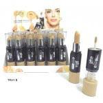 Saffron Dual Toned Concealer / Skin Colour Foundation 2 Options (24pcs) 2667 (SAFFRON 38) (£1.17/each)