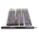 Saffron Soft Black Kajal Eye Liner Pencil (12pcs) (£0.30/each)