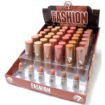 W7 Fashion Lipstick - Nudes (36pcs) (LND) (£0.60/each) C22