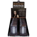 W7 Brow Master Stencil Kit (24pcs) (BROWMST) (0552) (£0.79/each) D/1
