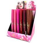 Saffron 2 in 1 Lipstick / Lip liner (24pcs) #167 (SAFFRON 59) (£0.92/each)