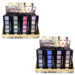 Saffron Metallic Eyeshadow Palette (24pcs) 2 Options (#8916) (SAFFRON 43) (£0.92/each)