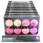 Technic Colour Fix Blush Palette (12pcs) (25705) (£1.42/each) C/98