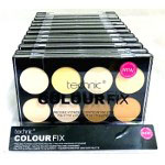 Technic Colour Fix Pressed Powder Contour Palette (12pcs) (25504) (£1.42/each) E/11