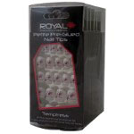 Royal Petite Pre-Glued Nail Tips (6pcs) (NNAI146) Temptress (£1.11/each) ROYAL/132