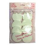 Lilyz Make-Up Applicators (12pcs) (Pink/White) (£0.86/each)