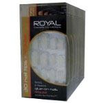 Royal 30 Glue-On Nail Tips - Regular (6pcs) NNAI005 (ROYAL 115) (£0.80/each)