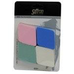 Saffron Latex Make-Up Sponges (12pcs) (6001) (SAFFRON 102) (£1.23/each)