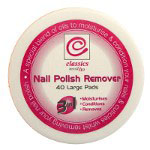 Classics Nail Polish Remover Pads (12pcs) (£0.71/each)