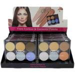 Saffron Face Contour & Corrector Palette (12pcs) (A,B) 8012 (SAFFRON 77) (£0.93/each)
