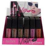 Baoishi Matte Lip Gloss (24pcs) Assorted Colours (B3226) (£0.49/each)