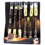 Saffron Smooth Eyeshader (24pcs) Dark Brown (7655) (SAFFRON 26) (£0.62/each)