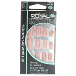 Royal In The Buff Glue on Nails with 3g Glue (6pcs) NNAI101 (ROYAL 123) (£1.05/each)