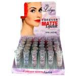Lilyz Forever Matte Lipstick (36pcs) Tray A (£0.74/each)