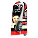 W7 Dip Liquid Eyeliner Blackest Black (3pcs) (ELPC) (£0.98/each) D14