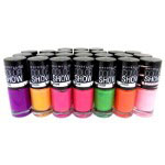 Maybelline Color Show Bleached Neons (12pcs) Assorted R636
