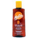 Malibu Dry Oil Gel - 200ml (SPF 6-15) (Brown Bottle)
