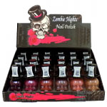 Saffron Zombie Nights Nail Polish (24pcs) (Tray 1-7) (£0.68/each)
