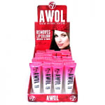 W7 AWOL Absent Without Lipstick (24pcs) (£1.02/each) C/53