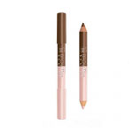 Bourjois Brow Duo Sculpt Brow Pencil & Highlighter (22 Chestnut)