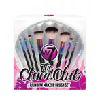 W7 The Clam Club Rainbow Makeup Brush Set (6588) A/52