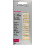 Maybelline Color Show Fashion Prints Nail Stickers (12pcs) (Chic Mirror 16 Gold Flake) R332