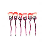 Lilyz Rose Makeup Brushes (6pcs) (Pink) (£1.33/each)