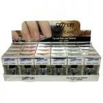 Saffron Nail Care 3in1 Shine (24pcs) (4289) (£0.68/each)