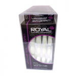 Royal 24 Nail Tips - Coffin (6pcs) NNAI190 (ROYAL 157) (£0.80/each)