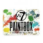 W7 Paintbox 77 Piece Eyeshadow Palette (3950) B/57