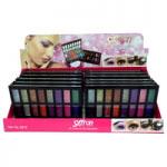 Saffron 16 Colours Glitter Eyeshadow (12pcs) (6012) (£1.85/each) (SAFFRON 46)
