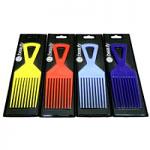 CS Beauty Afro Comb (Assorted) (12pcs) (83023) (S2105) (£0.30/each) CSB/8