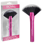 Royal Mega Metals Large Fan Brush (6pcs) (QBRU103) (ROYAL 78) (£1.85/each)