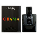 Obama (Mens 100ml EDT) Shirley May (0805)